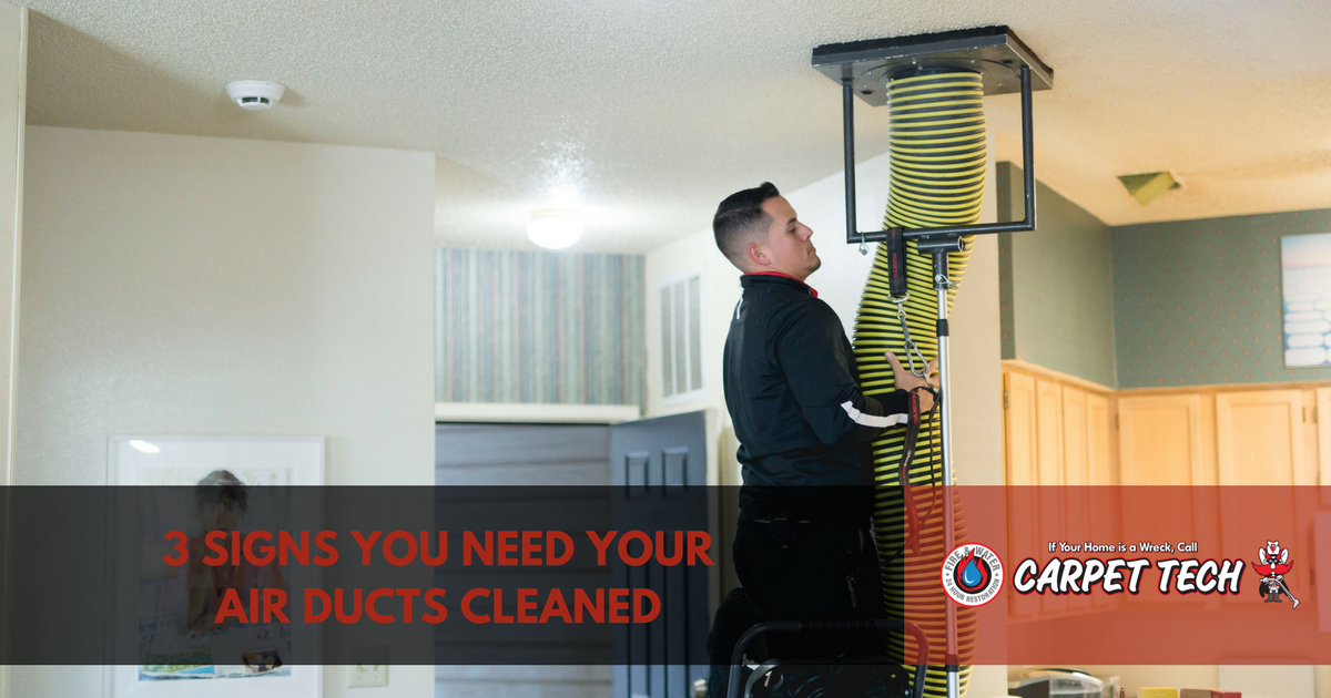 3 Signs You Need Your Air Ducts Cleaned