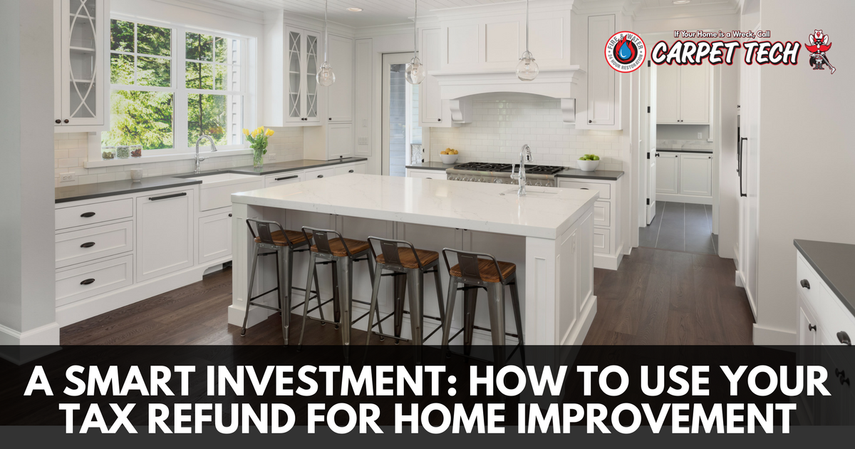 A Smart Investment: How to Use Your Tax Refund for Home Improvement