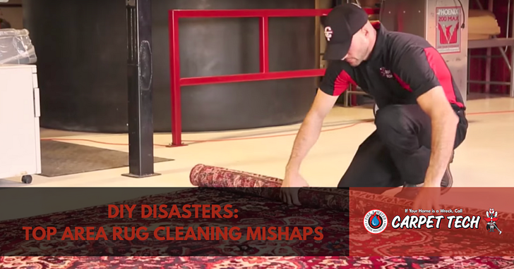 Diy Disasters Top Area Rug Cleaning Mishaps