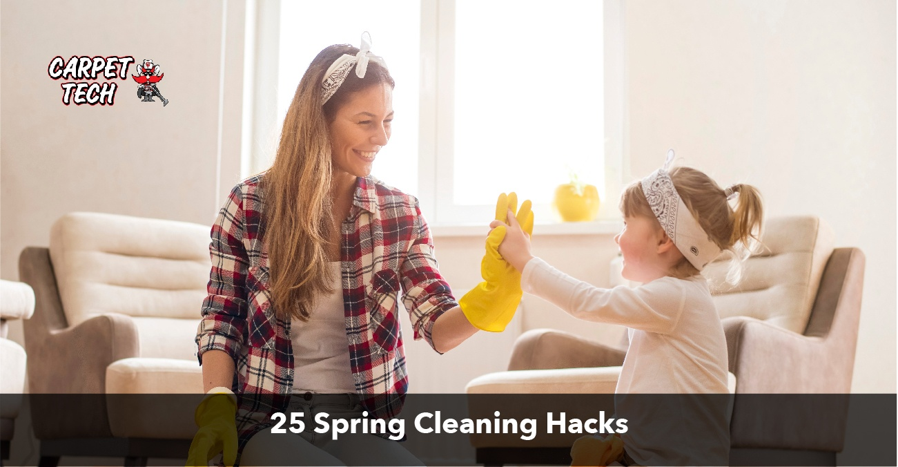 25 Spring Cleaning Must-do's
