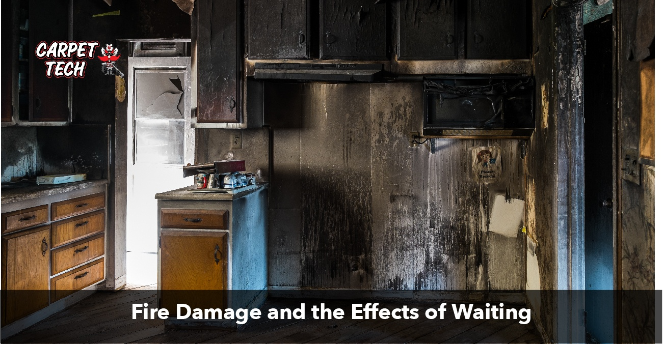 Fire Damage and the Effects of Waiting