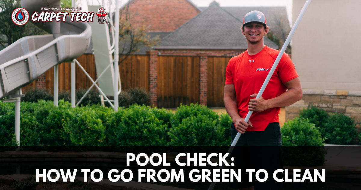 Pool Check: How to Go From Green to Clean