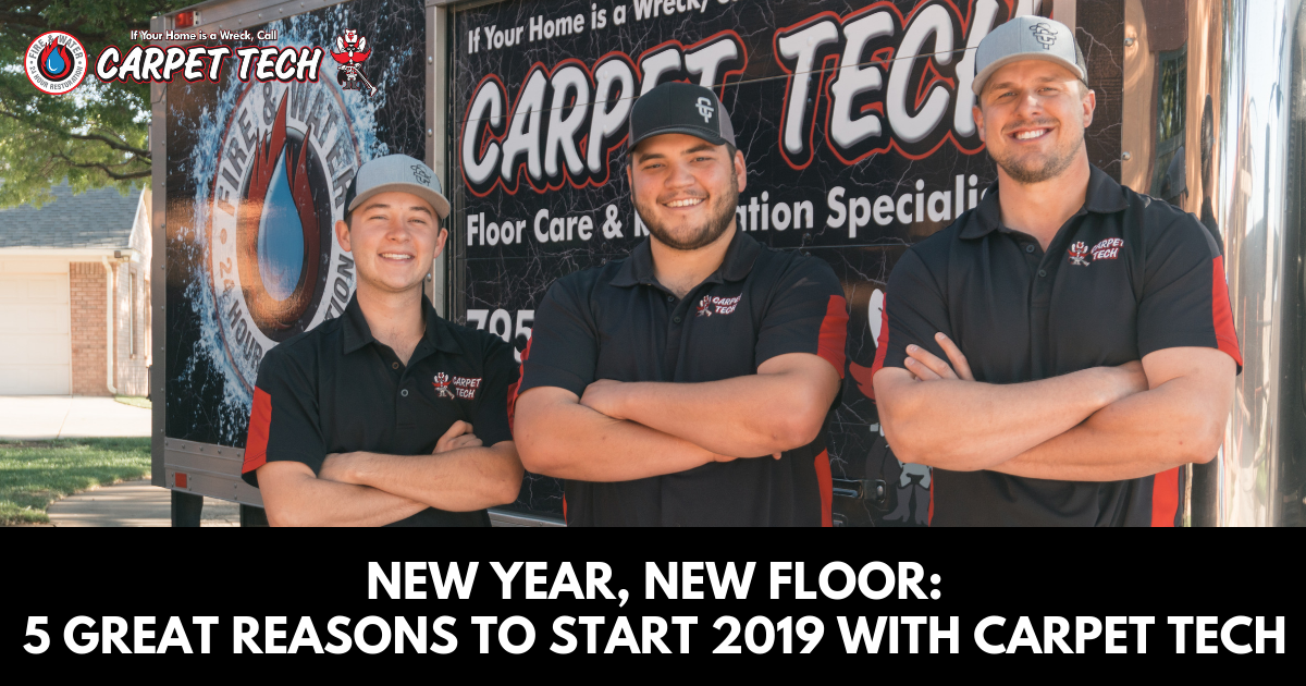 New Year, New Floor: 5 Great Reasons to Start 2019 with Carpet Tech