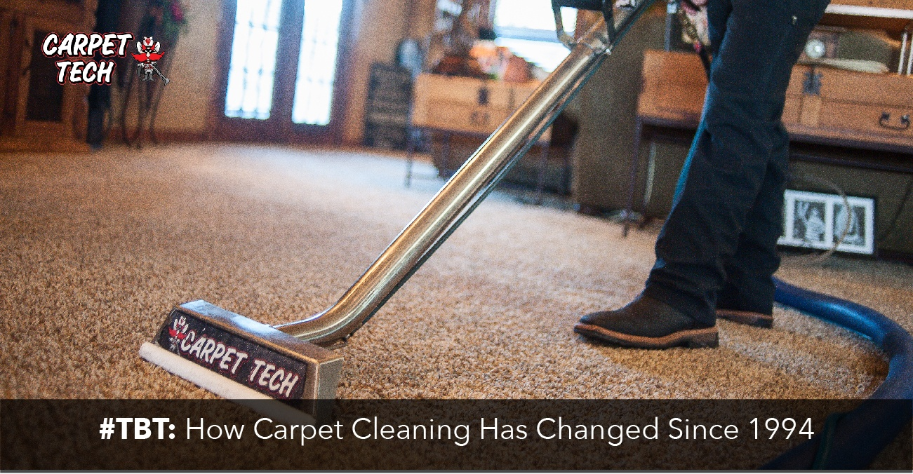 #TBT: How Carpet Cleaning Has Changed Since 1994