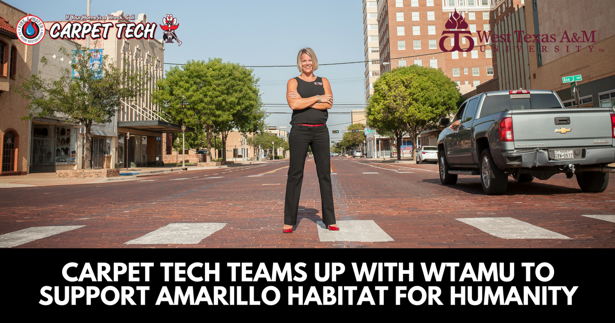 Carpet Tech Teams Up with WTAMU to Support Amarillo Habitat for Humanity