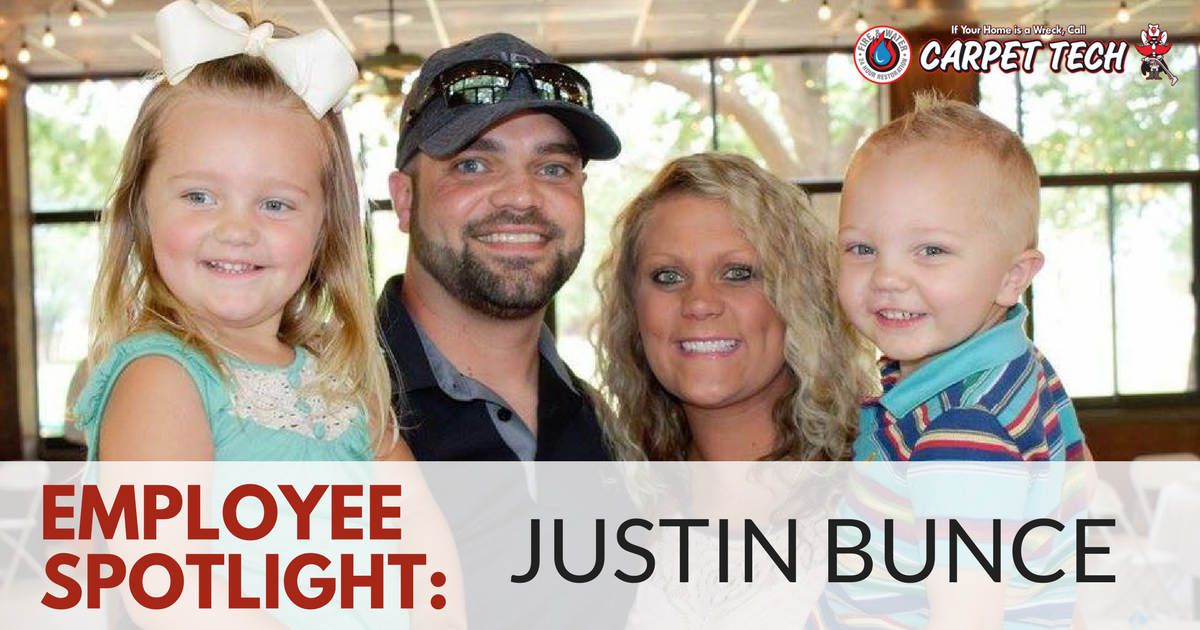 Employee Spotlight: Justin Bunce