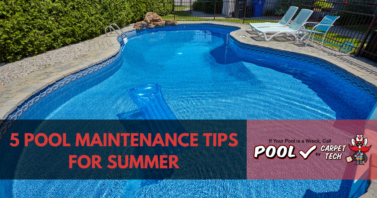 5 Pool Maintenance Tips for Summer