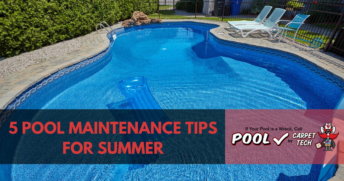 5 Pool Maintenance Tips for Summer