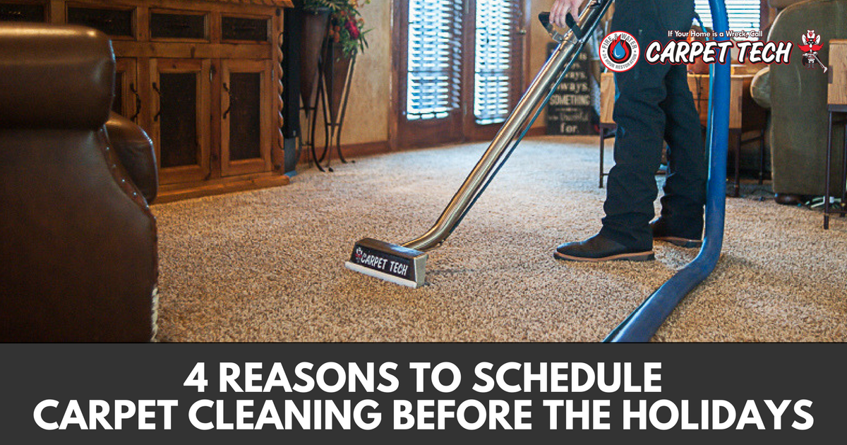 4 Reasons to Schedule Carpet Cleaning Before the Holidays