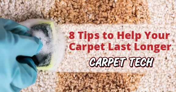 Carpet Care: 8 tips to Help your Carpet Last Longer