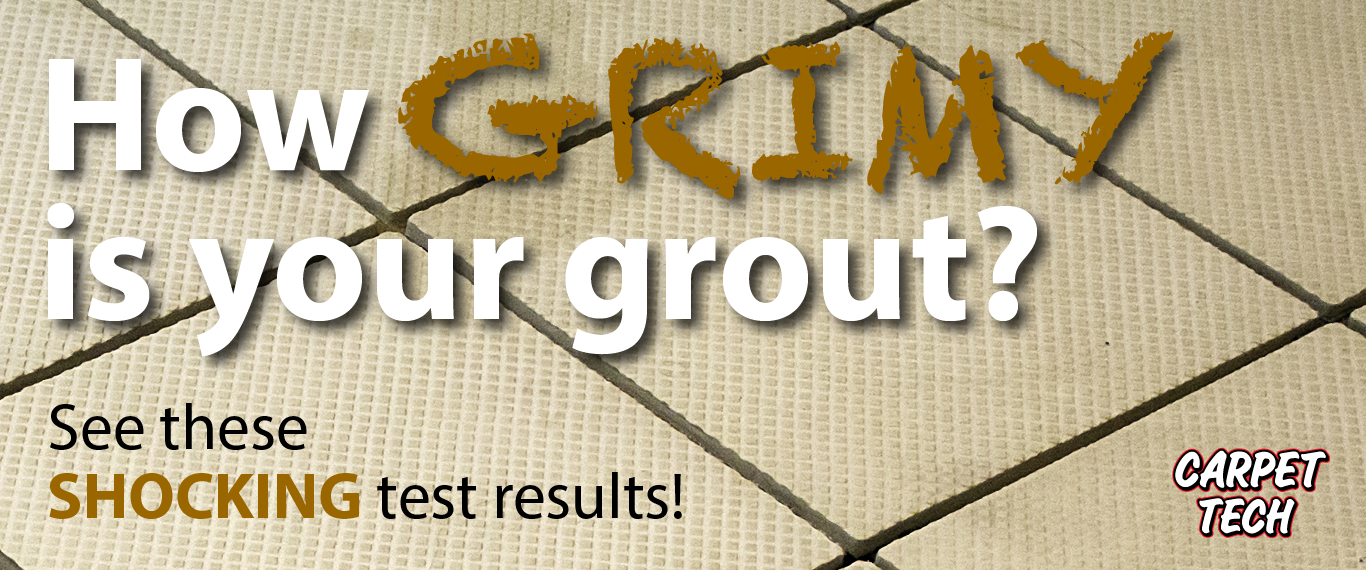 How Grimy is Your Grout? See These Shocking Test Results.