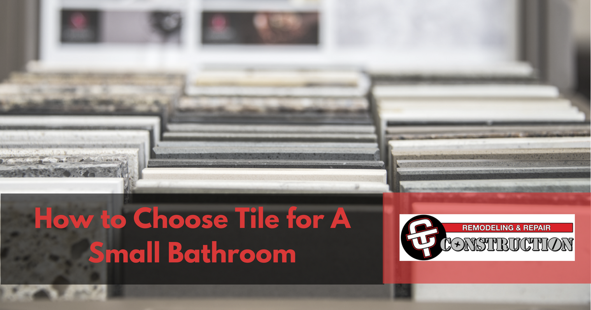 How to Choose Tile for A Small Bathroom