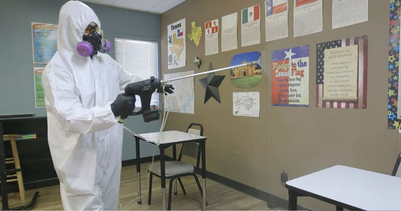 New Curriculum: Best Practices for School Cleaning and Disinfection