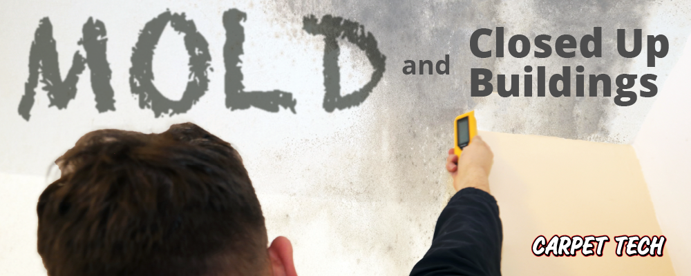COMMERCIAL Mold Removal for Closed Up Buildings